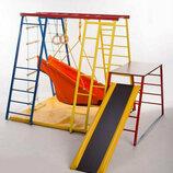 Детский спортивный комплекс, уголок, куточок, полная комплектация, без гимнастического мата.