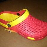 Пляжные босоножки 30-35 р. кроксы, сандалии, крокси, пенка, босоніжки, сандалі, пенка, бассейн
