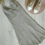 S женское платье сарафан хлопок