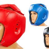 Шлем боксерский открытый с усиленной защитой макушки Elast 8268 шлем для бокса размер S-L