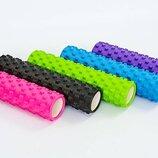 Роллер массажный для йоги и пилатеса Grid Rumble Roller 6280 длина 61см 5 цветов