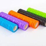 Роллер массажный для йоги и пилатеса Grid Combi Roller 6673 длина 61см 5 цветов