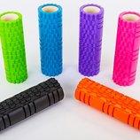 Роллер массажный для йоги и пилатеса Grid Combi Roller 6675 длина 45см 6 цветов