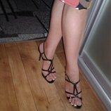 Босоножки на шпильке туфли сандалии