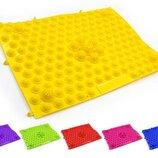 Коврик-Пазл ортопедический массажный резиновый 4601 размер 38,5x28см 6 цветов