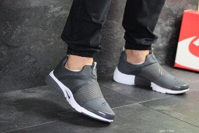 Nike Presto кроссовки мужские демисезонные серые 7980