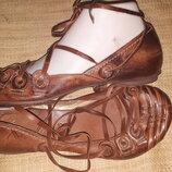 39р-25.5 кожа новые эксклюзивные балетки Max на широкую 25.5 вся стелька ширина стельки 9.5 Д