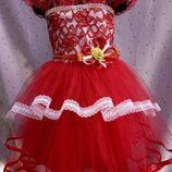 Нарядное платье Кокетка