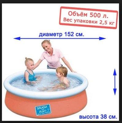 Бассейн 57241 Детский Бествей. Дитячий басейн.