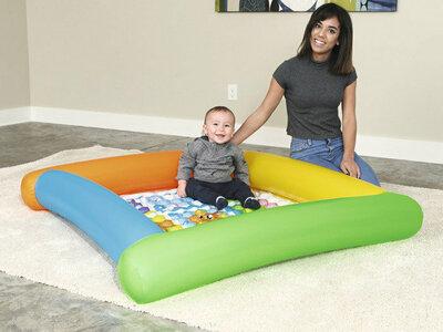Бассейн 52240 Детский Bestway Бествей надувное дно. Дитячий надувний басейн. Мягкое дно.