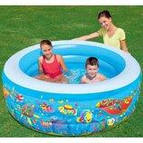 Надувной детский Бассейн 51121 Bestway Бествей . Надувний дитячий басейн.