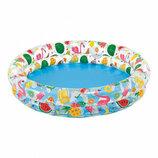 Детский Надувной Бассейн 59421 Intex Интекс . Дитячий надувний басейн.
