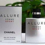 Аромат мечта,пленивший сердца женщин и мужчин - Chanel Allure Homme Sport 100мл.