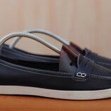 Синие женские кожаные туфли на платформе Boden, 40 размер. Оригинал