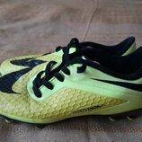 Бутсы копочки фирменные Nike HyperVenom р.31-19.5см