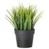 Искусственное растение в горшке, трава Fejka Фейка, 004.339.42 Икеа Ikea