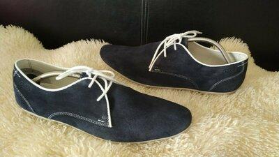 Am company туфлі мокасіни замша 44 р по ст 29 см в хорошому стані