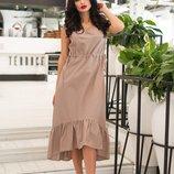 женское летнее длинное пышное классическое платье из льна женские летние длинные платья ниже колен