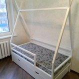 Кровать - домик отправим по всей Украине