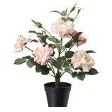 Искусственное растение в горшке, розовая роза, большая, 48 см 203.952.89 Fejka Фейка Икеа Ikea