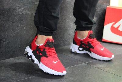 Кроссовки мужские Nike Presto React red