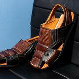 Мужские кожаные сандалии Bumer