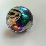 Шар стеклянный цветной 4 ,5 см диаметр