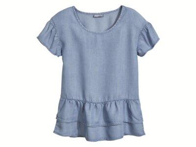 146 10-11 лет , летняя блуза на девочку от pepperts