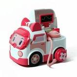 Robocar Poli Машинка Эмбер с аксессурами