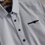 Рубашка белая 7 - 12