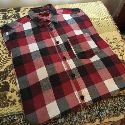 Сорочка у клітинку,сорочка клетчастая