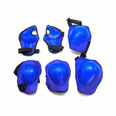 Набор Защитная экипировка синий защита на руки/ноги