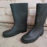Брендові чоботи гумові жіночі 36 Італія 23,5 см сапоги женские резиновые