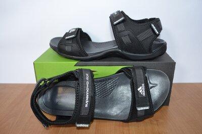 Кожаные сандалии Адидас