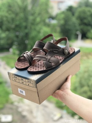 Мужские кожаные сандалии Bonis, 4 цвета