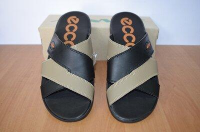Кожаные шлепанцы Ecco