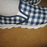 Легкие, Стильные Новые Мужские Слипоны ,Мокасины,текстиль , верх крепкий текстиль. не парят
