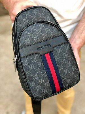Мужская сумка бананка Gucci