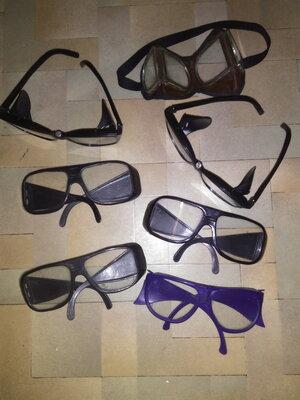 Очки рабочие производственные для защиты глаз