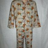 пижама с начесом 4Т