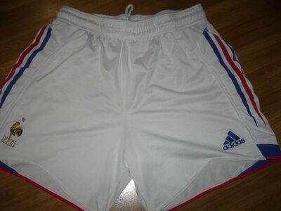 Шорты белые Adidas L спортивные