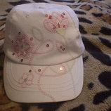 Красивая кепка бейсболка для девочки р. 53-55 Польша