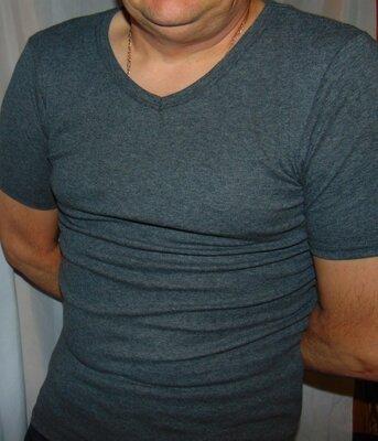 Новая фирменная катоновая футболка Германия Livergy .м-л .