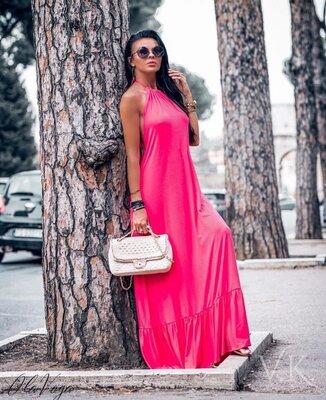 Красивое платье пять расцветок