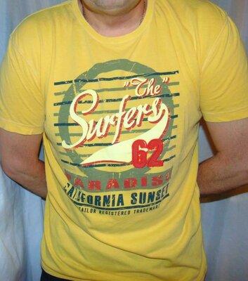 Стильная брендовая футболка Tom Tailor .л-хл .