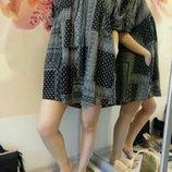 Фирменное платье туника из хлопка. Платье для беременных.