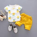 Лёгкий летний костюм для малышей