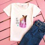Жіночі футболки з принтом   Женские футболки