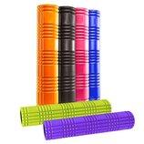 Роллер массажный для йоги и пилатеса Grid Roller 4941 длина 61см 6 цветов