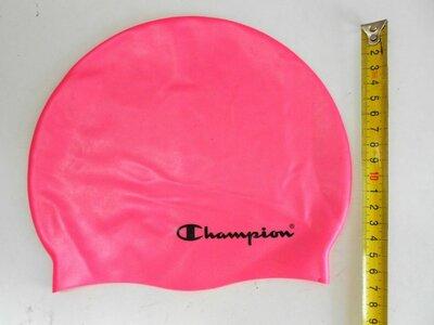 Шапочка для плавания детская силиконовая Champion